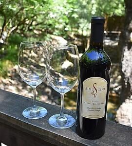 creek bottle glass