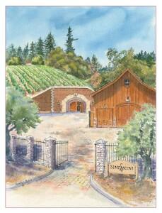 gate watercolor 1